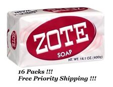 16 Pack ZOTE Pink Laundry Clothes Hand Delicate Wash Soap For Stains 14oz (400g)