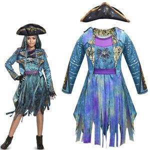New Descendants 3 Uma Halloween Christmas Fancy Dress Cosplay Costume Party Xmas