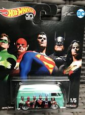 Hot Wheels 2018 DC Comics Justice League Volkswagen T1 Panel 50th Anniversary