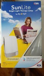 SunLite Bright Light Therapy Lamp, Sun Lite Day Light Carex Model P801 Silver