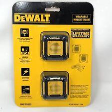 DeWALT Wearable Walkie Talkie Belt Two Way Long Range - DXFRS220 (New & Sealed)