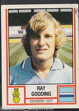 PANINI CALCIO VIGNETTA 1981-n. 77-Coventry City-RAY Gooding