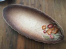 Carltonware: retro plato ovalado en el patrón de Somerset