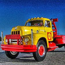 Very Rare - SHELL OIL - 1957 IH OILFIELD SERVICE / BOOM Truck - First Gear