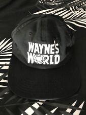 Vintage Wayne's World Dad Hat Buckle Back Strap Rare Super Bowl 90s Nineties Lit