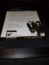 The Church Priest = Aura Rare Original Radio Promo Poster Ad Framed!