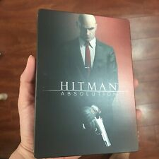 Hitman Absolution Steelbook G1 CASE ONLY | Future Shop Hit Man | dented last one