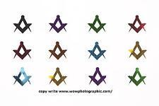 White Table Decoration - Masonic Square & Compass Confetti - 1 packet