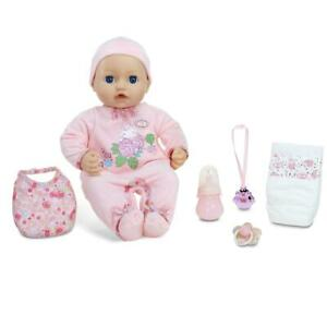 Blue Eyes Soft Bodied Baby Doll Baby Annabell Cries Wets Potty Realistic Sounds
