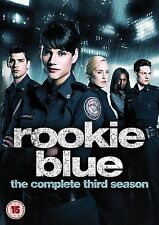 Rookie Blue Complete Series 3 DVD All Episodes Third Season Original UK NEW R2