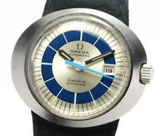 OMEGA Geneve Dynamic Date Silver / Blue Dial Automatic Ladies Watch_551029