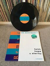 "THE REESE PROJECT Faith Hope & Clarity 2x 12"" 1993 Electronic Garage House VGC!!"