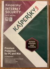 Kaspersky Internet Security 2013 (Retail) (3) - Full Version for Windows, Mac