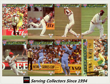 1993/94 Futera Cricket Trading Cards Great Memories Subset Full Set (8) -RARE