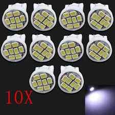 10x Led Canbus Error Free T10 168 194 W5W 5 SMD Car Side Wedge light White Bulb