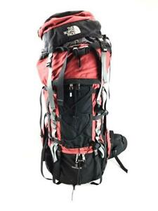 The North Face Badlands Red Size 75L Medium Backpacking bInternal Frame Backpack