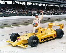 Johnny Rutherford 1980 Indianapolis Indy 500 Winner 8x10 Photo