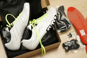 Giro Empire SLX cycling road shoes mens 7.5 pearl white EU40
