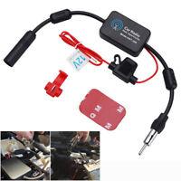 12V Auto Booster Inline Antenne Radio Signal FM&AM Antenne Verstärker CarStereo