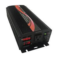 1000W Pure Sine Wave Power Inverter 48V DC to 120V AC 60HZ LED Display US Stock
