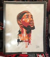 "Lebron James Oil Painting on Canvass 20"" x 24"" #LJ01"