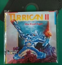 "TURRICAN 2 : floppy disc 5,25"" Commodore 64, test ok C64 game (read before)"