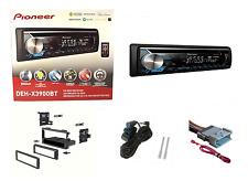 Pioneer Bluetooth Stereo CD Player Dash Kit Car Radio DEH-X3900BT No Remote Kit