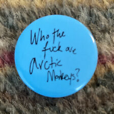 More details for arctic monkeys who the #### are the arctic monkeys promotional badge