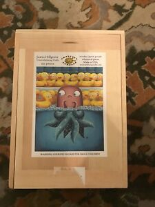 Artifact wooden puzzle Justin Hillgrove Rare Sold Out 257 Pieces