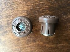 NOS VTG Cateye Handlebar End Plugs Other Colors Avail Light Blue Beautiful
