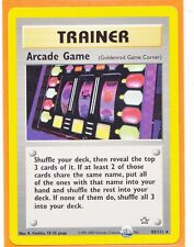 Unlimited Pokemon  1 x  ARCADE GAME  # 83/111 Rare card Neo Genesis Never Played