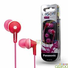 Panasonic ErgoFit Earphones for iPod, iPhone, MP3 & Android - Pink, RP-HJE125E-P