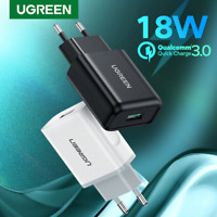 Ugreen USB Quick Charge 3.0 QC 18W USB Charger QC3.0 Fast Wall Charger Mobile Ph