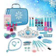 Mädchen Make-up Set Spielzeug für Kinder Kosmetik Kit Kinder Spielzeug NEU