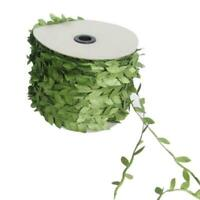 Artificial Silk Leaf for Wedding Decoration 10m