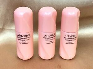 3 Shiseido Bio Performance LiftDynamic Serum Travel Size 3x7ml./.25oz=21ml/.75oz