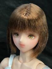 "1/6 12"" OOAK Custom Volks Obitsu Doll Head by Pocapoca Repaint CY Girl Phicen"