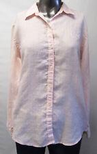 Ralph Lauren,Neuwertig,Damen,Hemd,Bluse,Pink,Weiß,Gestreift,L(USA),Gr.42