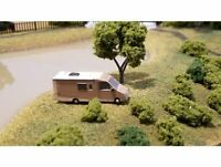 HO or N scale Model Leisure Travel Van Unity Motorhome 3D Printed in (Gray)