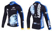 New Men's Long Sleeve T-shirt Shirt Bike Bicycle Riding Top Cycling Jersey Wear