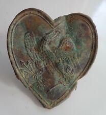 US Civil War Eagle Heart Breast Plate Cartridge Box Plate