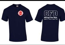 Chicago Fire Show TV Show Chicago Fire Department T-shirt Duty Shirt Rescue
