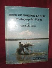 BOOK OF MORMON LANDS by Paul R Cheesman & Blaine Hudson  HC w/ DJ