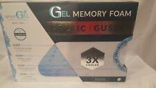 Sensor Gel Arctic Gusset Gel Infused Memory Foam Pillow Cool Coat Technology