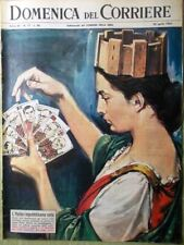 La Domenica del Corriere 28 Aprile 1963 Bancroft De Filippo Vanoni Koscina Morte