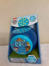 Paw Patrol Projection Alarm Clock Color Changing Projection Light