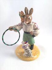 Royal Doulton Bunnykins Tino The Trickster 2005 Figurine DB-333