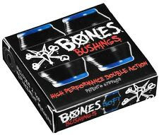 BONES Hardcore Bushings - 81a Soft Black incl. 2 Topwasher  Longboard Skateboard