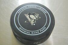 Pittsburgh Penguins Veteran's Day Game Puck