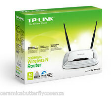 ROUTER WIFI ACCESS POINT LAN 2 MIMO 802.11n 300Mbps WIRELESS TPLINK TL-WR841N